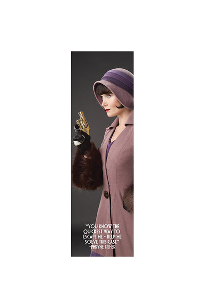 Miss Fisher and the Crypt of Tears The Gun Bookmark