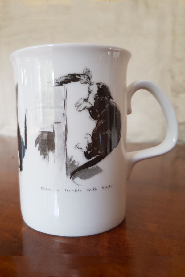 "NORMAN LINDSAY ""fidge"" COFFEE MUG"