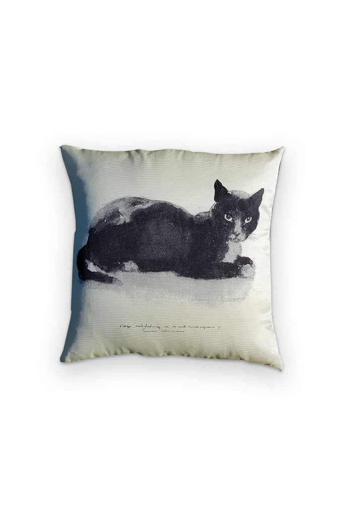 Double Sided Cat Cushion Cover