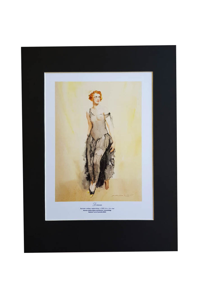 Doreen by Norman Lindsay- Print