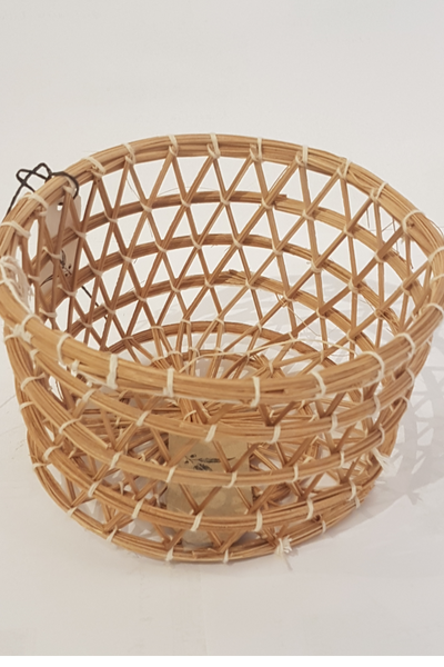 Handwoven Flat Basket- Small