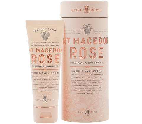 Mt Macedon Rose Hand & Nail Creme 100ml