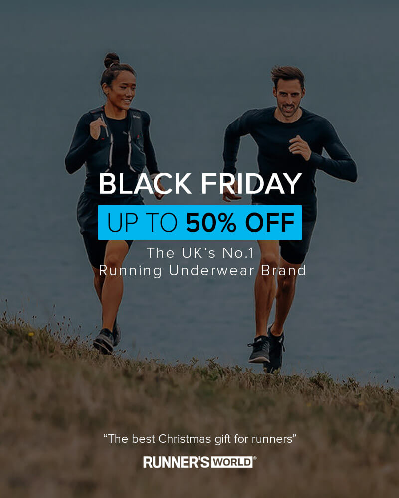 Save up to 50% off in the Runderwear Black Friday Sale