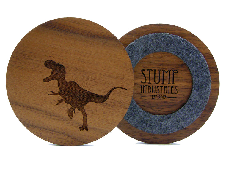 Dinosaur Coasters (Set of 4)