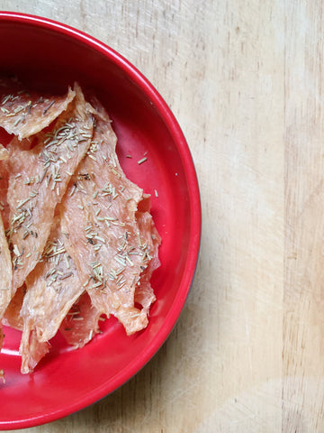 Rosemary Chicken Jerky