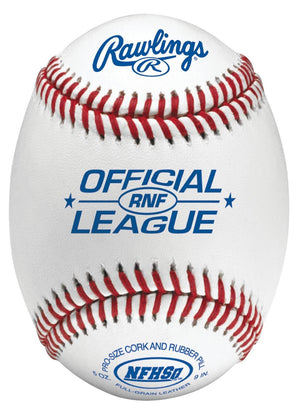 Rawlings High School Game Ball Composite Cork-Rubber 1 Dozen