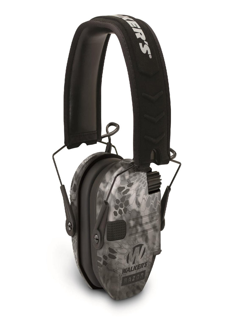 Walkers Razor Slim Shooter Folding Muff-23dB NRR-Camo