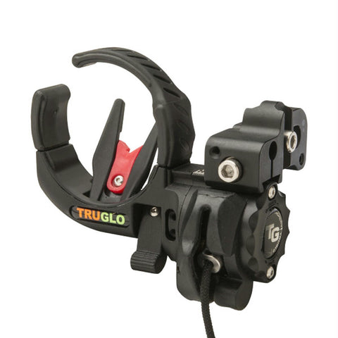 Image of TruGlo Lock-Fire Drop-Away Arrow Rest - Right Handed