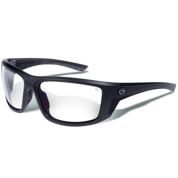Gargoyles Stance Sunglasses Matte Metallic Graphite-Clear