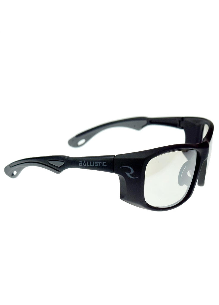 Radians CSB100 Shooting Glasses - Matte Black and Ice