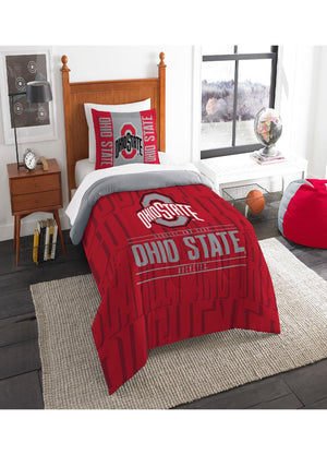 Ohio State Buckeyes Twin Comforter Set