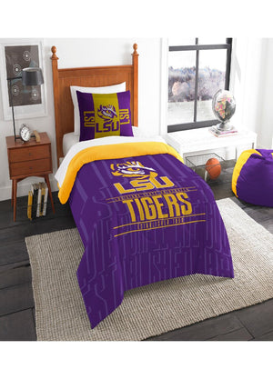 LSU Tigers Twin Comforter Set