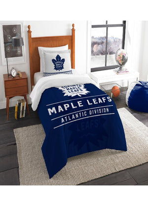 Toronto Maple Leafs Twin Comforter Set