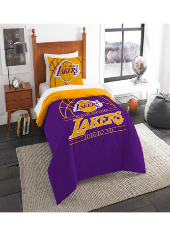 Los Angeles Lakers Twin Comforter Set