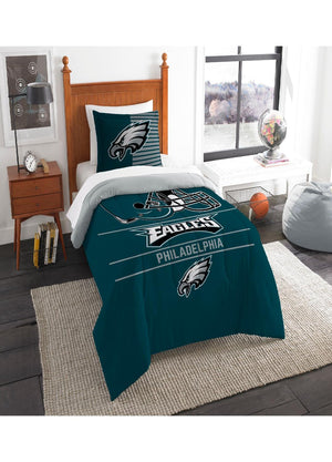 Philadelphia Eagles Twin Comforter Set