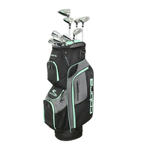 Cobra Golf XL Speed Women's Complete Set Black-Mint RH