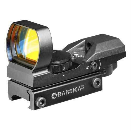 Barska Multi-Reticle Electro Scope Sight-1x 22x33mm