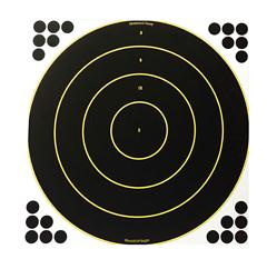"Birchwood Casey Shoot-N-C 17.25"" Round Targets 5 Sheet Pack"
