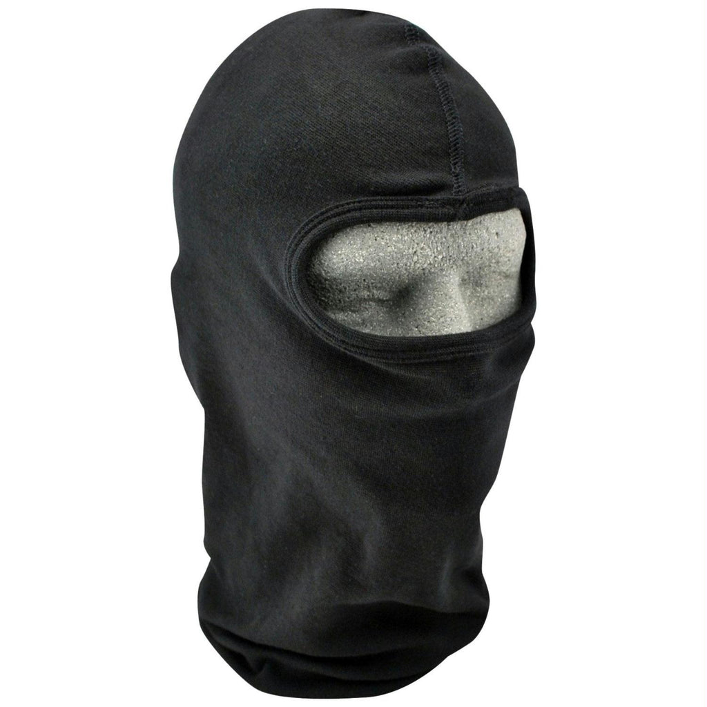 ZANheadgear Cotton Balaclava - Black