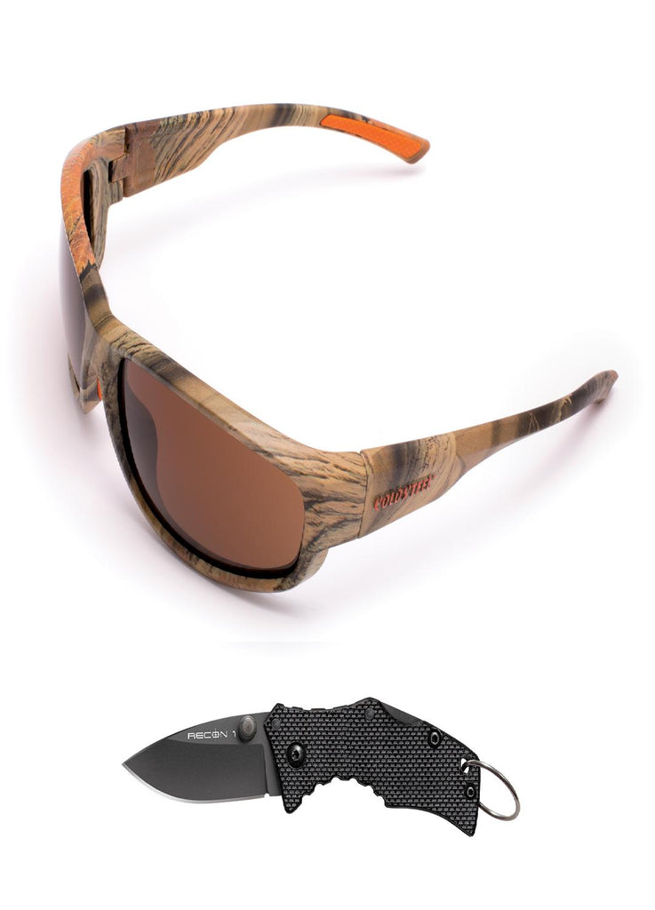 Cold Steel Battle Shades Mark II - Camo w-Free Knife