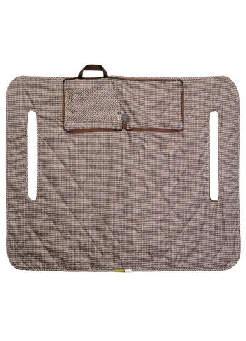 Classic Fairway Golf Cart Seat Blanket-Cover - Houndstooth