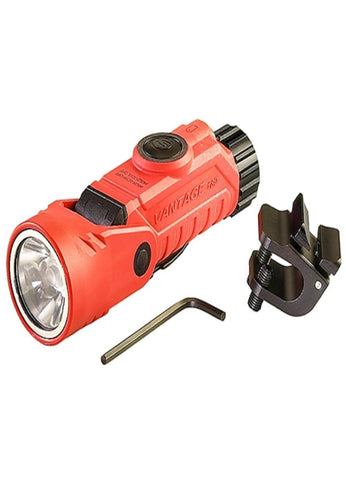 Streamlight Vantage 180 Right Angle w-Helmet Clip - Orange