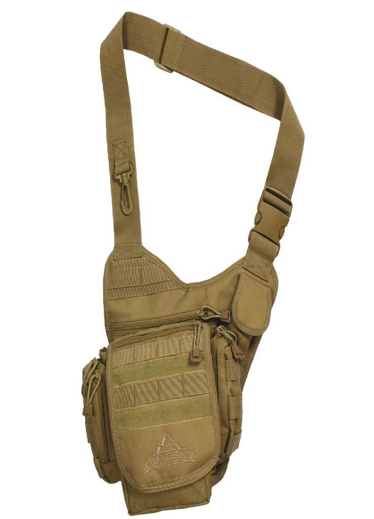 Red Rock Nomad Sling Bag - Coyote
