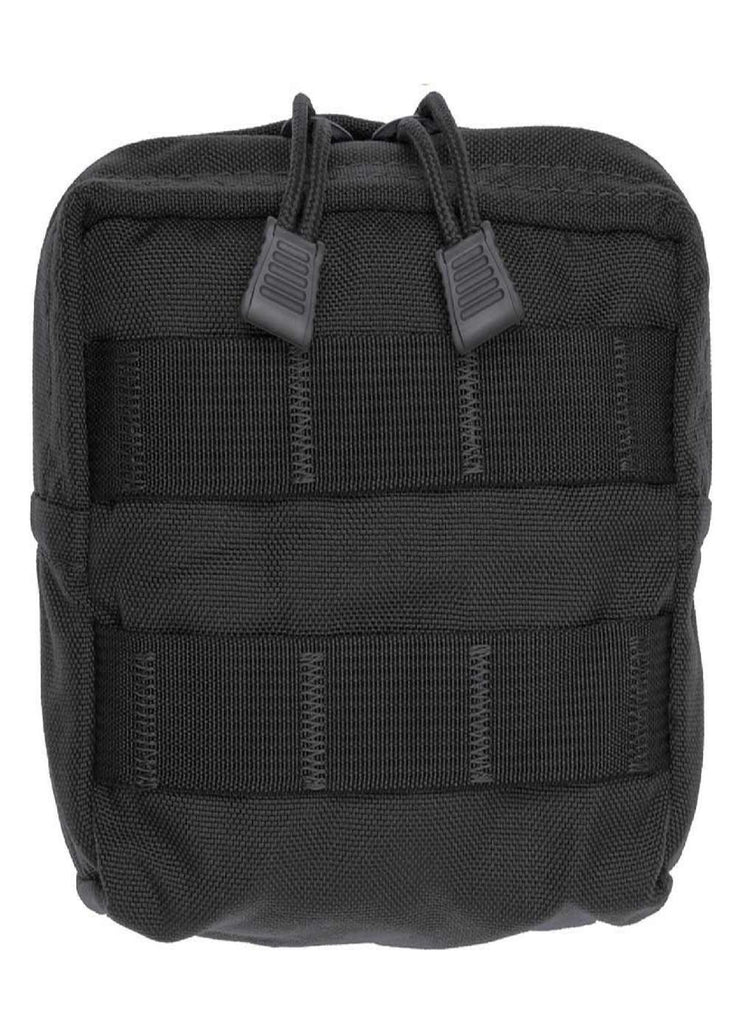 Tac Shield Compact Gear Lined Molle Pouch Black