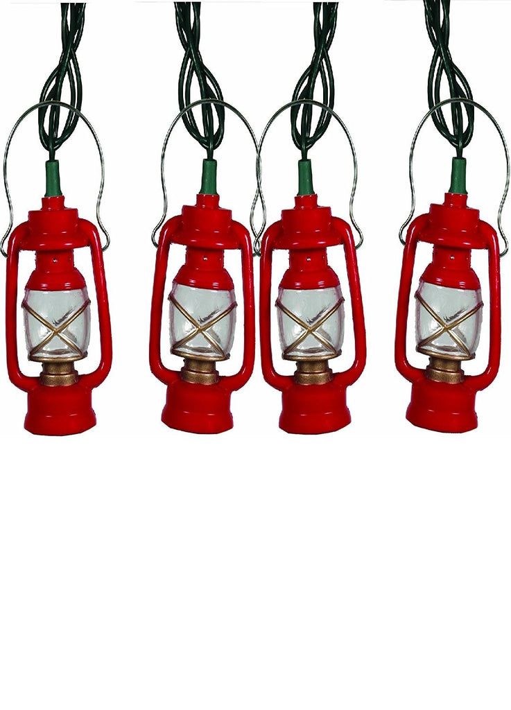 Rivers Edge Light Set 10' Deluxe Red-Green Camping Lantern
