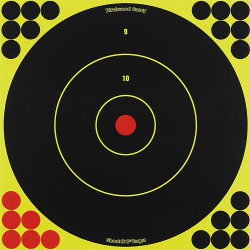 Birchwood Casey Shoot-N-C 12in Bulls-Eye Target - 12 Targets