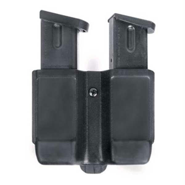 Blackhawk Double Mag Case Double Stacked Black Matte