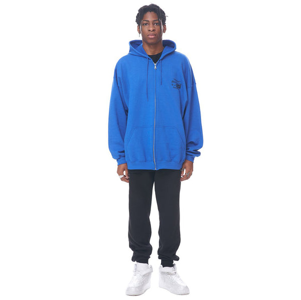 Resale Market is A Super Market Zip-up Hoodie