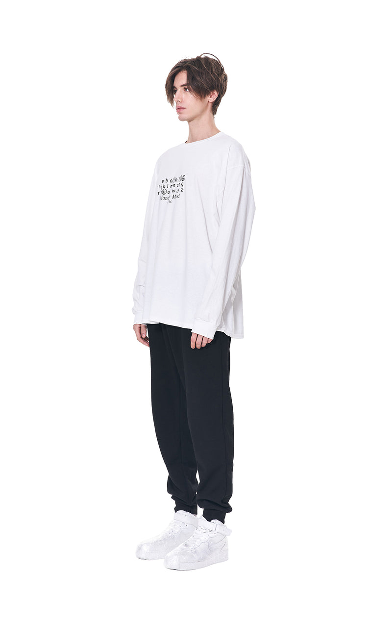 MONDAY MOOD PANIC LONG SLEEVE TEE