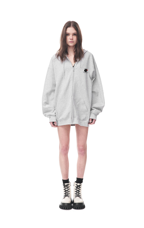 Come de Crossover Zip-up Hoodie