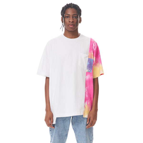 Colour-blocked Patch Tee