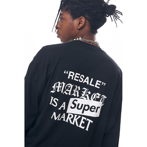 Resale Market is A Super Market Long Sleeves Tee