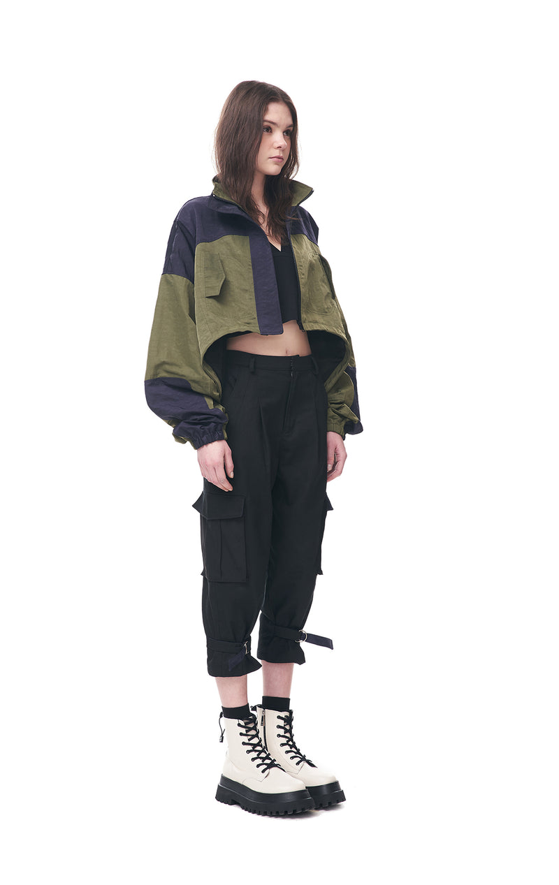 Cropped Mountain Jacket