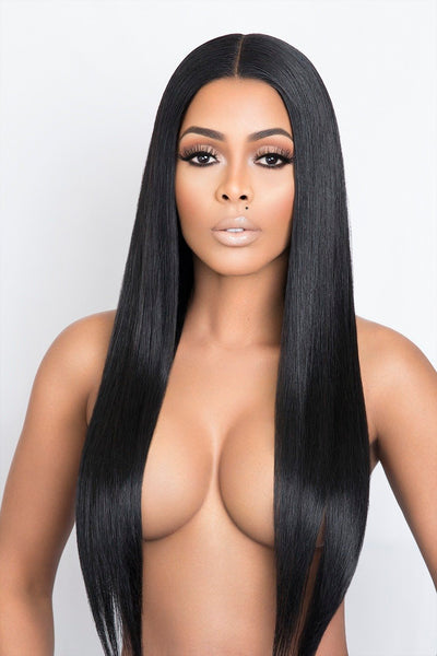 FULL LACE WIG - BRAZILIAN STRAIGHT