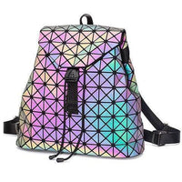 Luminous Geometric Backpack
