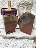 Agate Bookends - Brown/Orange Set of 2 | Crystal Karma by Trina