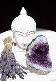 Amethyst Cluster Polished Edge | Crystal Karma by Trina