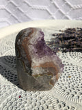 Amethyst Cluster Polished Edge #77 | Crystal Karma by Trina