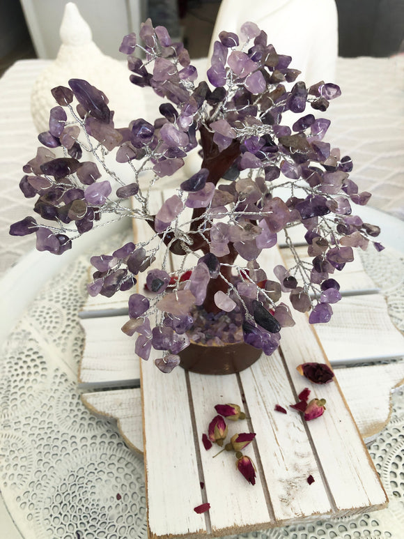 Amethyst Crystal Tree | Crystal Karma by Trina