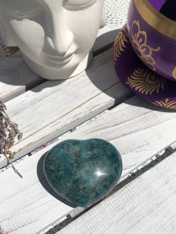 Apatite Heart #3 | Crystal Karma by Trina