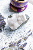 Apophyllite Cluster Natural/White - Crystal Karma By Trina