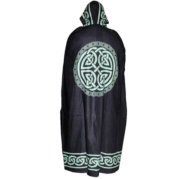 Black Celtic Cape | Crystal Karma By Trina