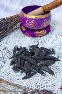 Black Kyanite Blades 50g Bag | Crystal Karma by Trina