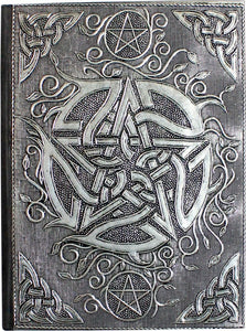 Book Of Shadows Aluminium Journal - Pentacle | Crystal Karma by Trina