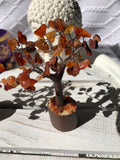 Carnelian Crystal Gemstone Fairy Tree | Crystal Karma by Trina