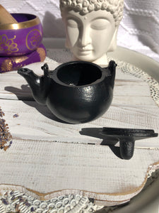 Plain Kettle Cauldron | Crystal Karma By Trina